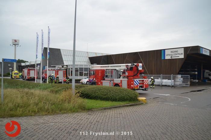 Grote brand voorkomen door beveiliger