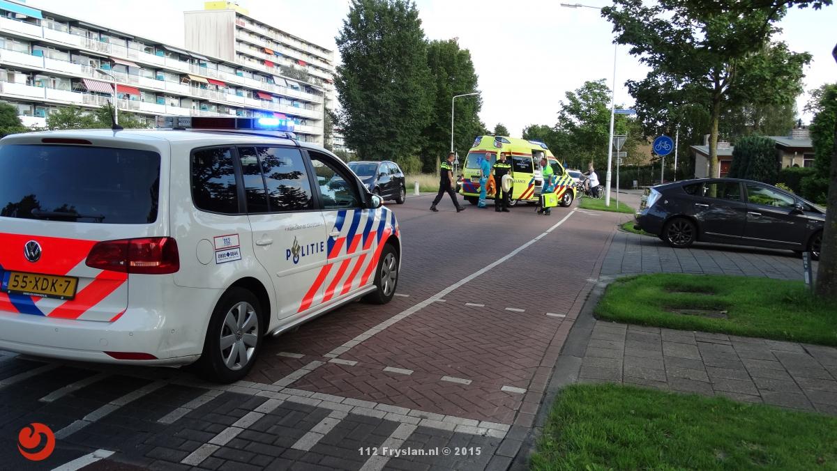 Bejaarde vrouw gewond na aanrijding met e-bike