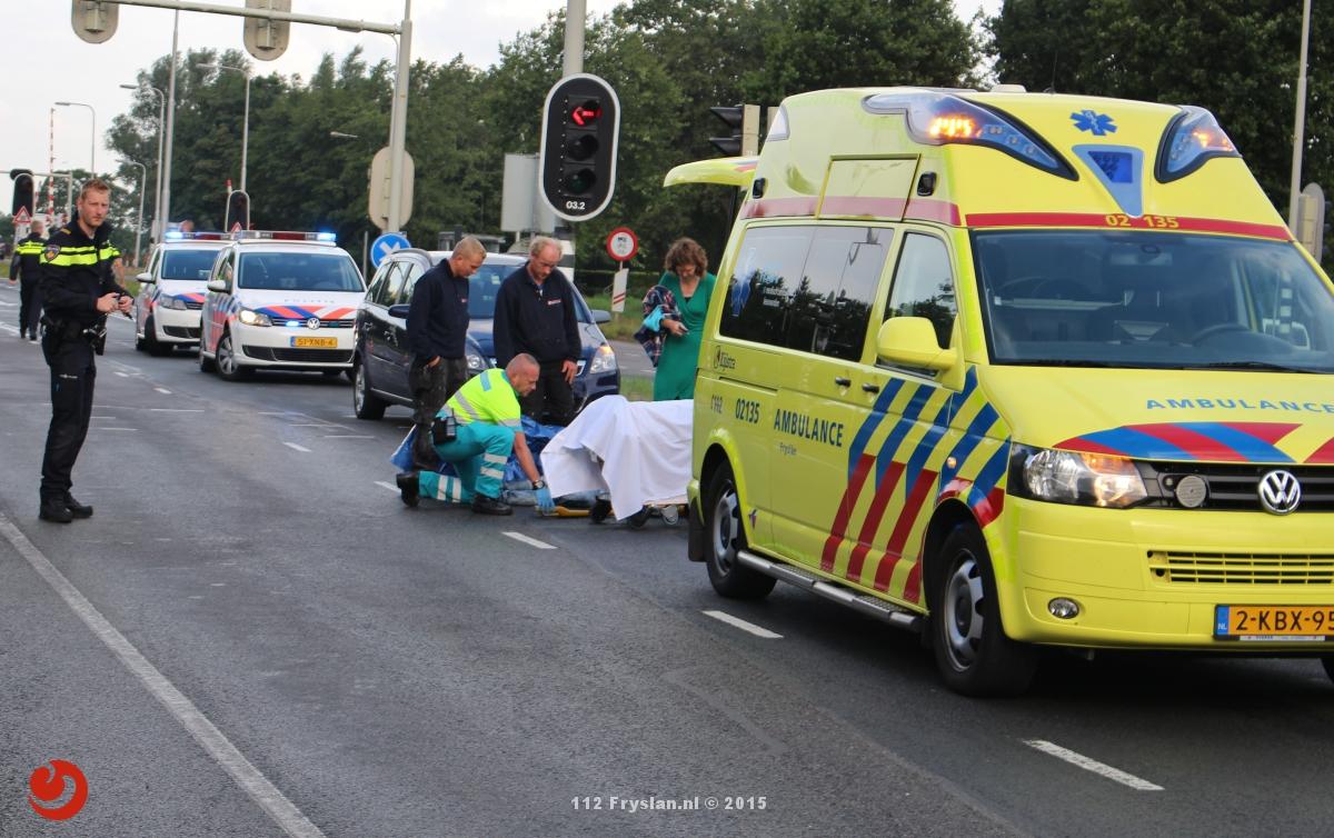 Voetganger aangereden door auto