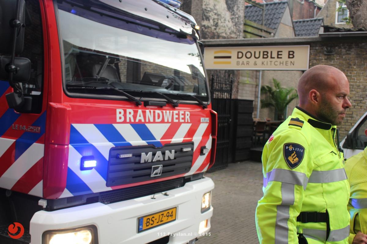 Groot alarm voor brand in binnenstad