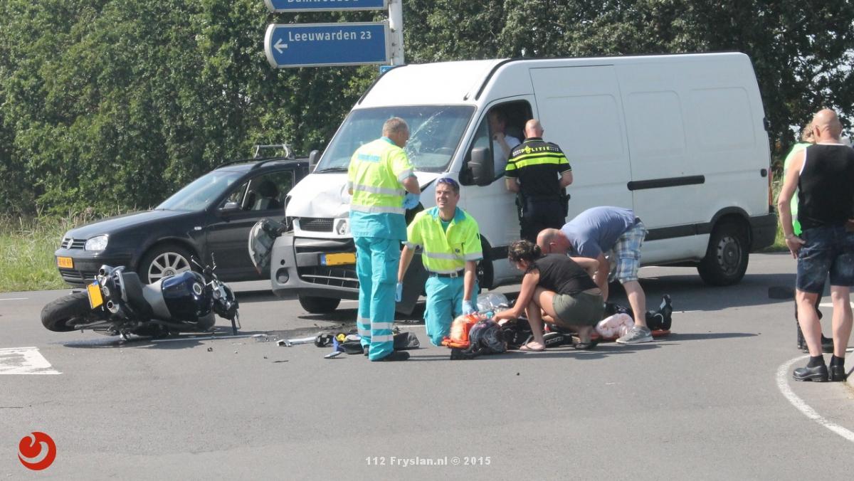 Twee gewonden na ongeval op Haadwei