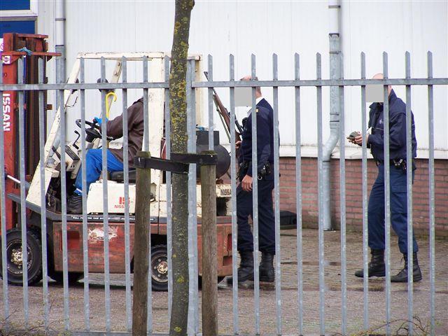 Politie schiet stier dood