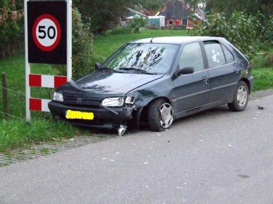 Fietsster gewond bij ongeval in Kollumerzwaag