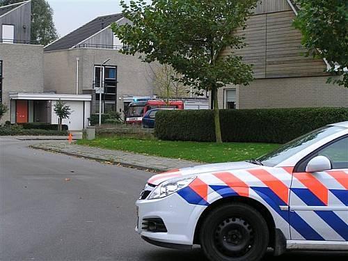 Wasmachine in brand Idzerdastis Leeuwarden