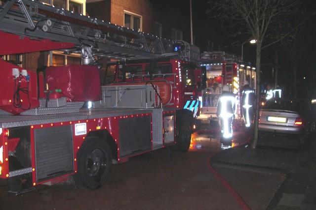 Woningbrand Tulpstraat 2 Sneek