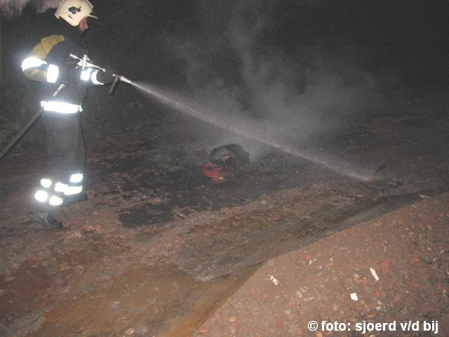 Brandweer Kollum blust emmer