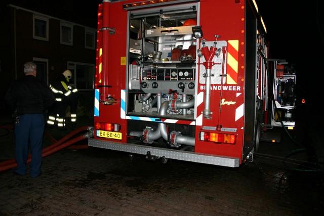 Brand verwoest garage in Gorredijk