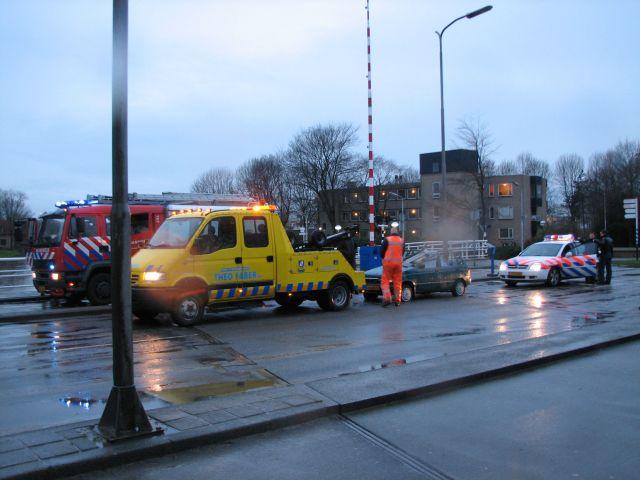 Aanrijding zorgt voor grote overlast in Leeuwarden