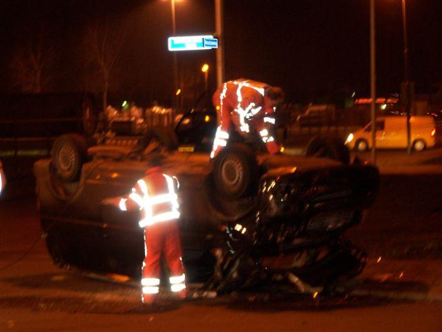 Ongeval Zuiderkruisweg Leeuwarden