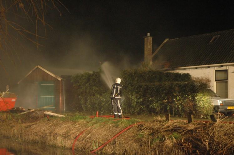 6 branden in Fryslân afgelopen nacht (UPDATE)