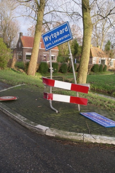 Auto total los na eenzijdig ongeval Wytgaard