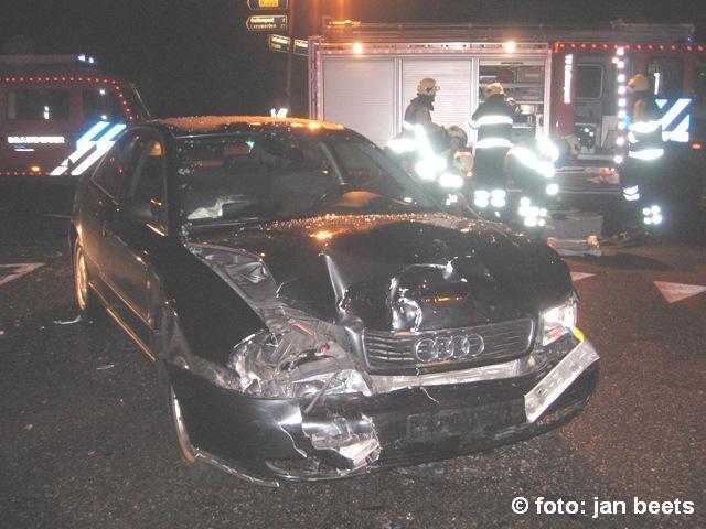 Twee gewonden bij ongeval Buitenpost