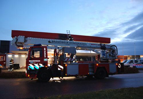 Brandje bij benzinepomp Dokkum