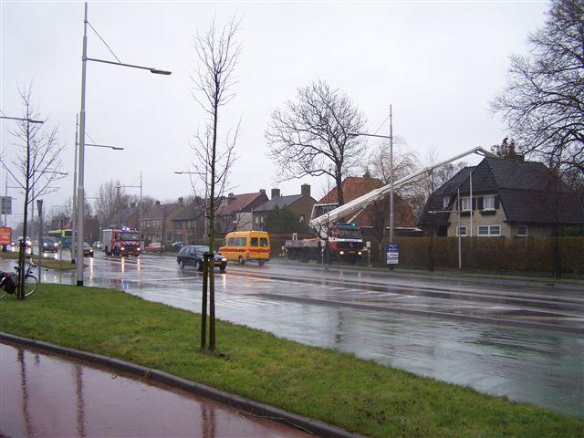 Foto Update: Schoorsteenbrand Troelstraweg
