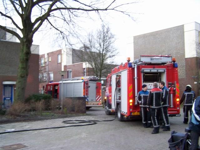 Buitenbrand, brandweer test nieuwe ts