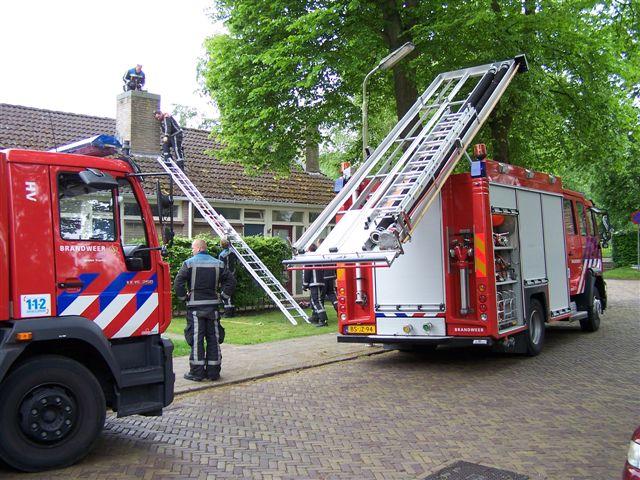Foutief alarm Willemskade + kat in pijp Wirdum