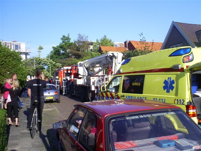 Bijkeukenbrand in de Weistraat * update *