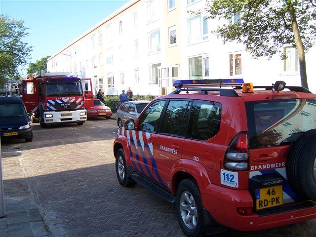 Brand in flat Dennenstraat