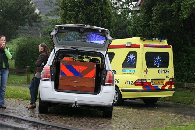 Drachten: Kopstaart aanrijding met 4 auto's