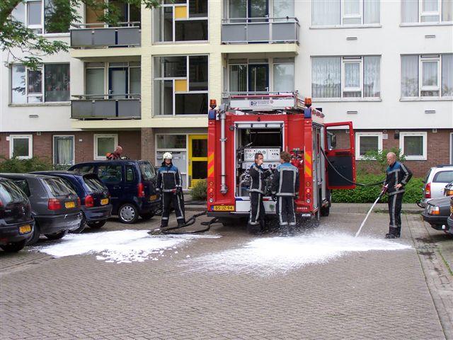 Woningbrand Curacaostraat