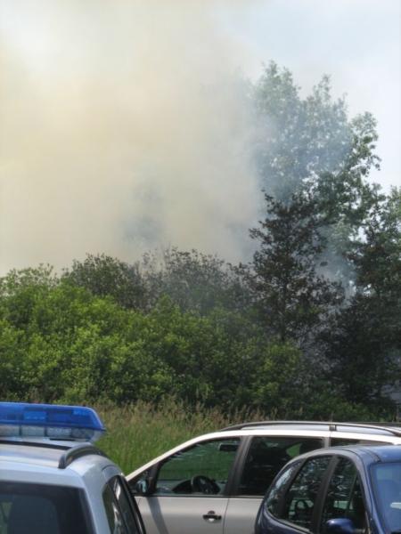 Gewonde bij brand in rietopslag