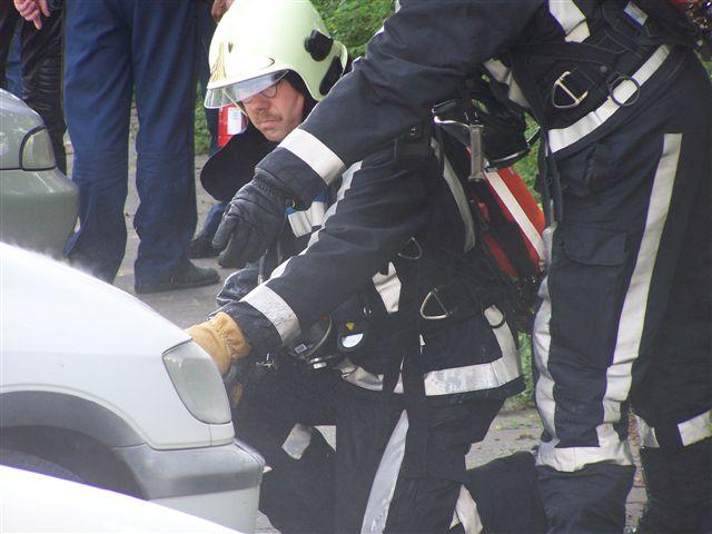 Autobrand Wijnhornsterstraat