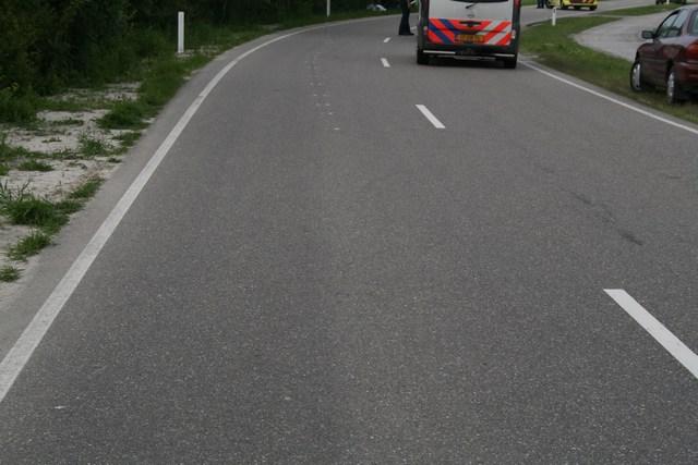 Motorrijder overleden bij eenzijdig ongeval