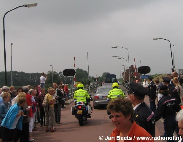 Koningin Beatrix op bezoekt Lauwersmeergebied