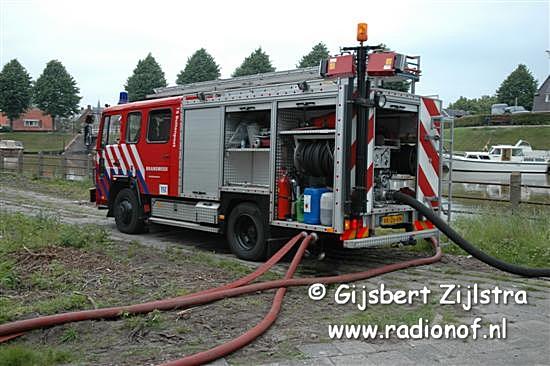 Brandweer houdt grote oefening in Dokkum