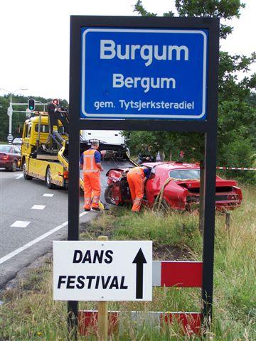 Ongeval Commissieweg Burgum