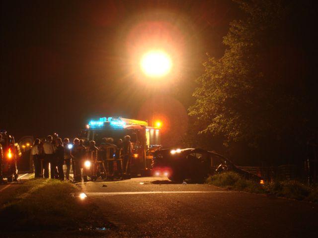 Eenzijdig ongeval Snitserdyk Dearsum