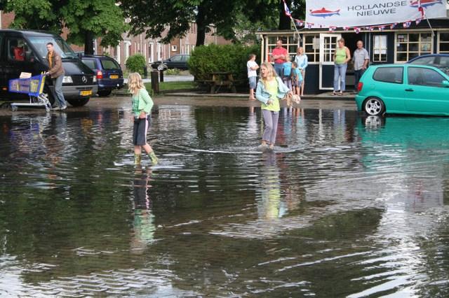 Wateroverlast in Gorredijk