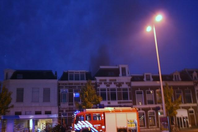 Uitslaande brand Zuiderplein * Foto update *