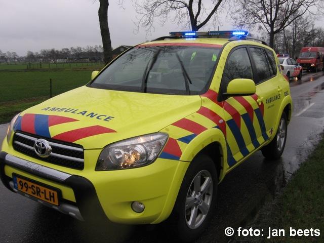 Project Friese ambulances om aanrijdtijd te verbeteren