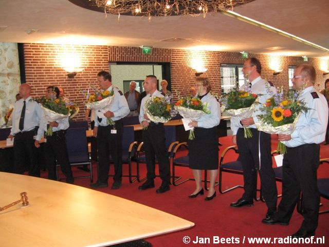 Zeven toezichthouders beëdigd in Buitenpost