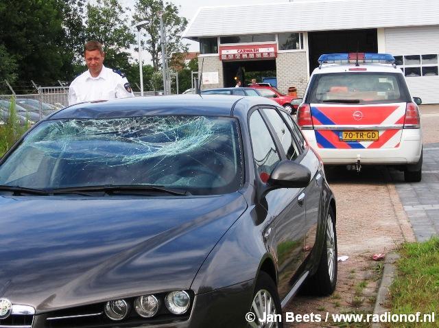 Bromfietser gewond na aanrijding Dokkum