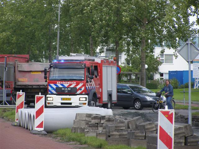 Gaslekkage Spanjaardslaan Leeuwarden