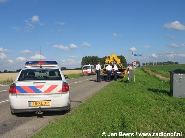 Motorrijder ernstig gewond na eenzijdig ongeval