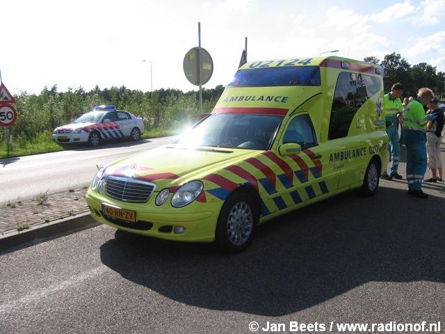Bromfietser gewond na aanrijding Kootstertille