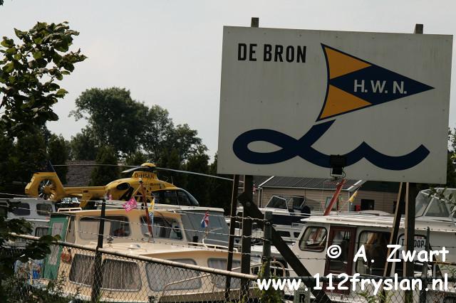 Zeven jarig jongetje verdronken in Heerenveen