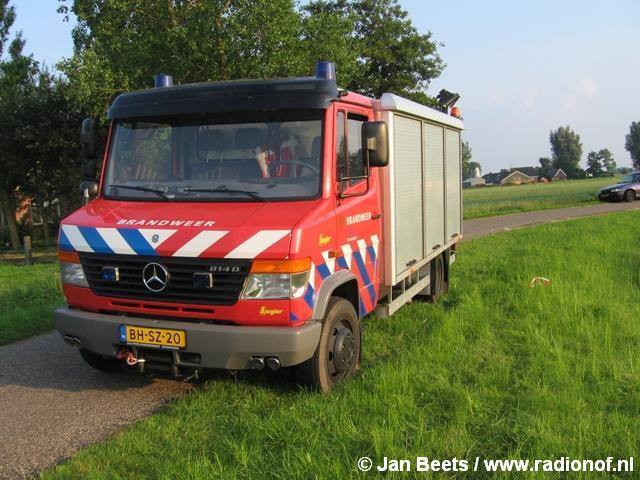 Automobilist ernstig gewond bij ongeval Lutjegast
