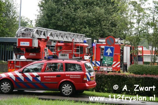 Klein binnenbrandje in zorgcentrum Heerenveen