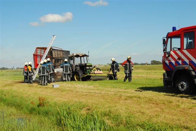 Tractorbrand Winsum