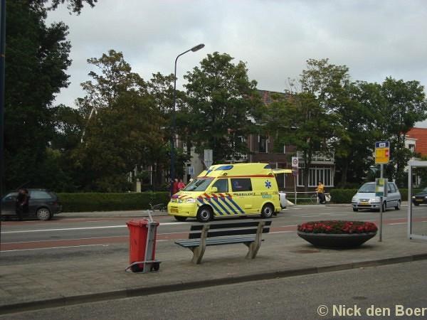 Aanrijding Auto-Fietser Stationsweg Harlingen