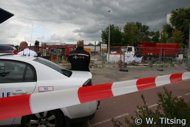 Ernstig ongeval op de Ludingadam in Bilgaard.