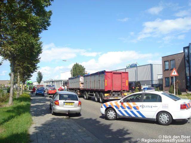 Klein ongeval Hermesweg