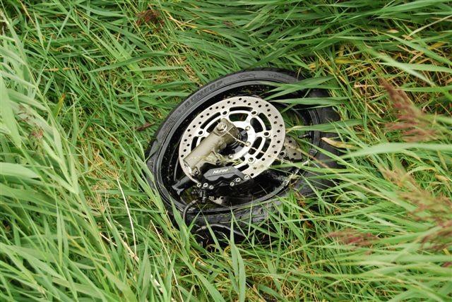 Ongeval met motor Slijkenburg
