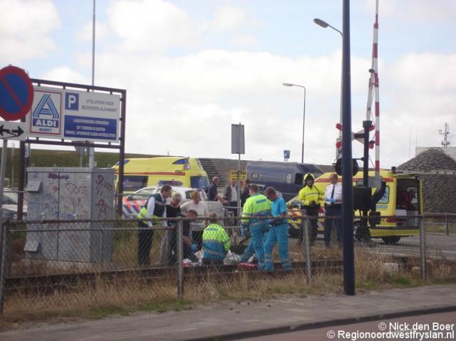 Invalide komt om bij ongeval trein