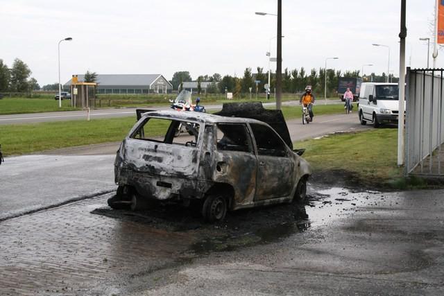Auto brand uit bij Titan Jelsum