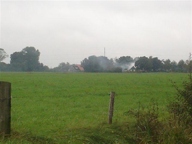 Uitslaande brand in boerderij Donkerbroek